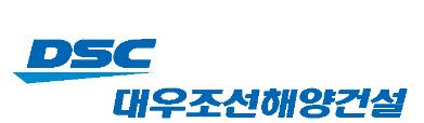 대우조선해양건설 로고
