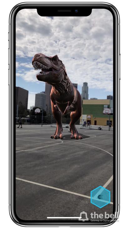 아이폰X 증강현실