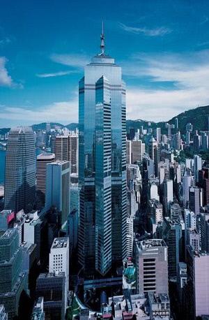 홍콩 더센터 빌딩