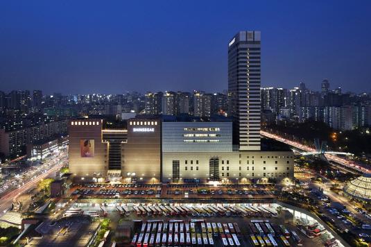 신세계백화점 강남점 및 센트럴시티 전경