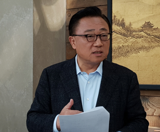 삼성전자 IM부문장 고동진 사장 간담회 (2)