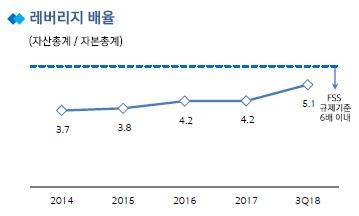 신한카드 레버리지 배율