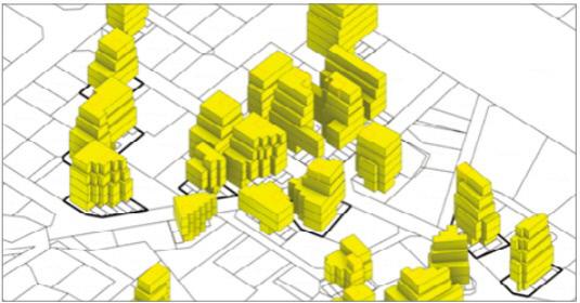 인공지능으로 연산한 도시의 모습