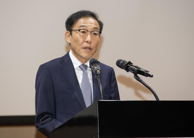 *김기남 부회장(2020년 시무식), 사진제공=삼성전자