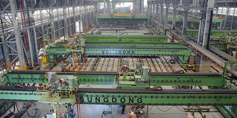 자동화 선각 공장