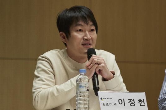 NDC2018 신임경영진미디어토크_넥슨코리아 이정헌 대표_1ff