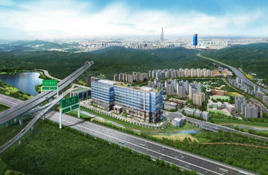 반도건설 성남 고등 지식산업센터 '반도 아이비밸리' 조감도