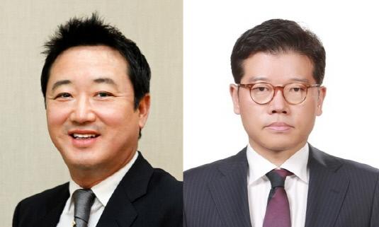 이웅열 회장 유석진 사장