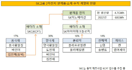 SK그룹 이차전지