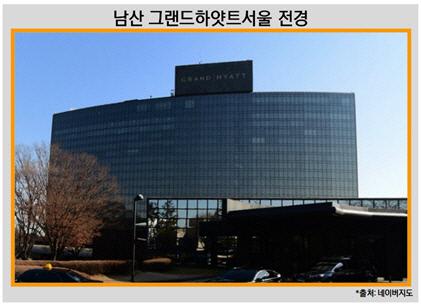남산 그랜드하얏트호텔서울 전경
