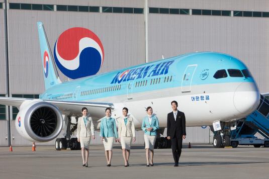 대한항공 보잉 787-9 차세대 항공기
